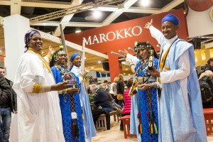 Marokko auf der Grünen Woche in Berlin. © Messe Berlin