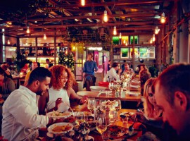 Neni Berlin – Sumptuous Dining in Neni Berlin means sharing it all (next to the Bikini) and widely on top of the Zoo as well