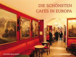 """Adonis Malamos: """"Die schönsten Cafes in Europa""""."""