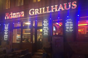 Adana Grillhaus in Kreuzberg.