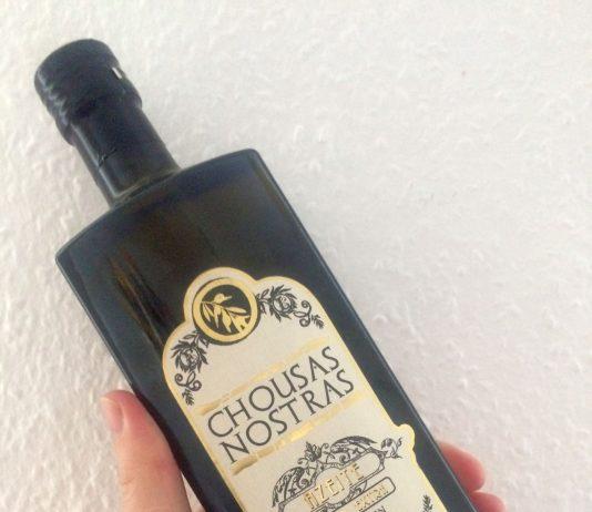 Das Olivenöl Chousas Nostras.