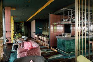 Die Skybar im Hotel Vienna House Andel's Berlin.